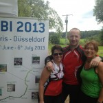 """Basisteam der """"wilden 13"""": Anja, Thomas und ich"""