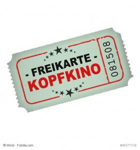 eintrittskarte v3 freikarte kopfkino I