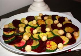 Rote-Bete-Zucchini-Carpaccio