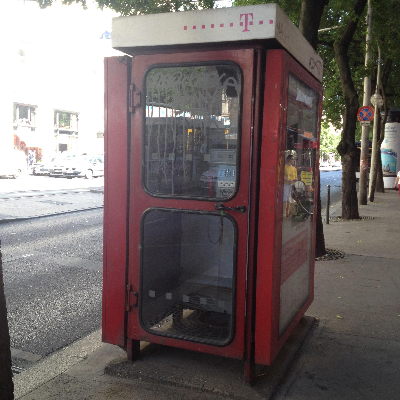 Budapester Telefonzellen